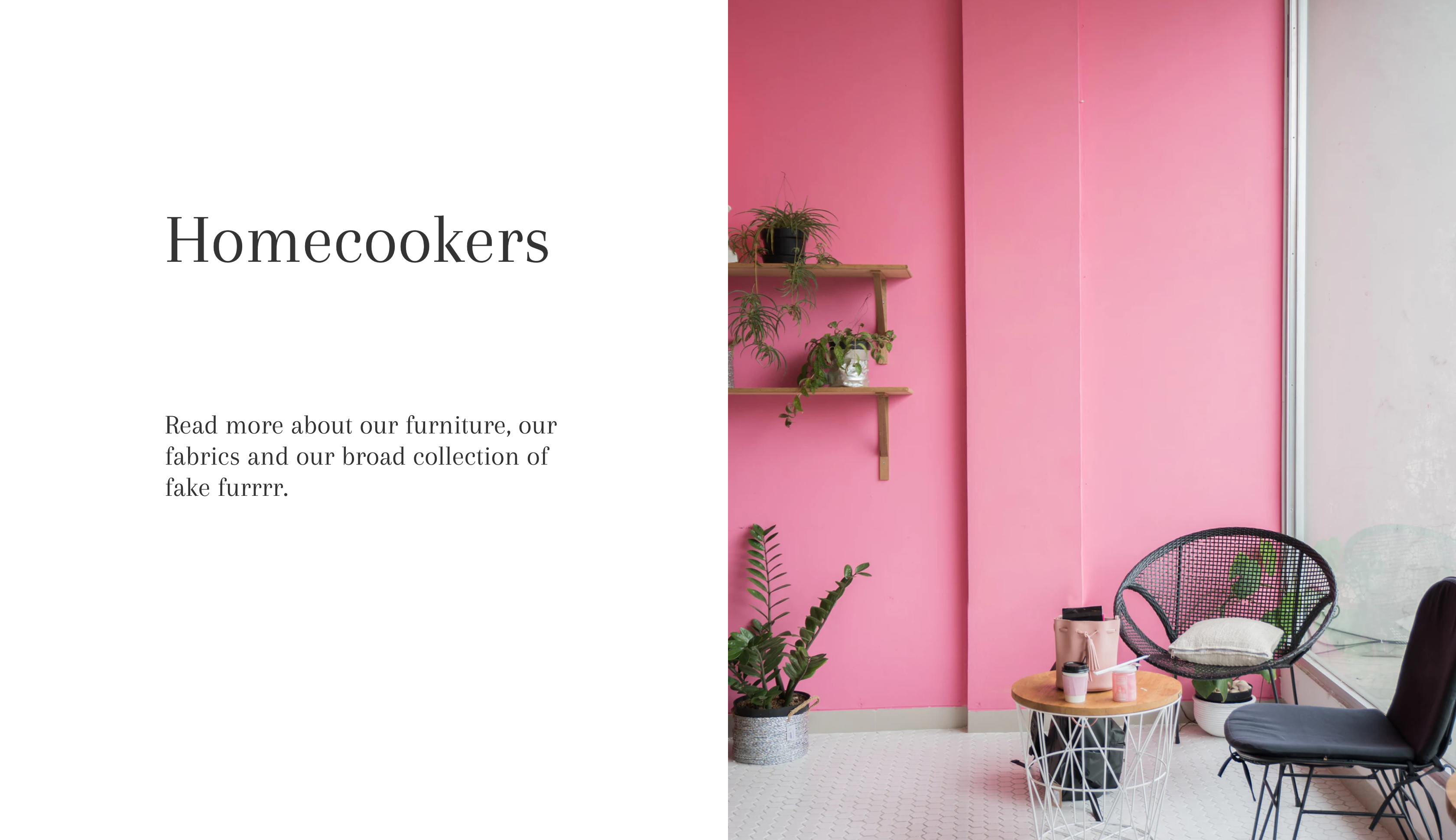 sample interior website