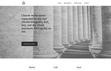 sample lawyer website