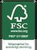 KORP FSC certificerede
